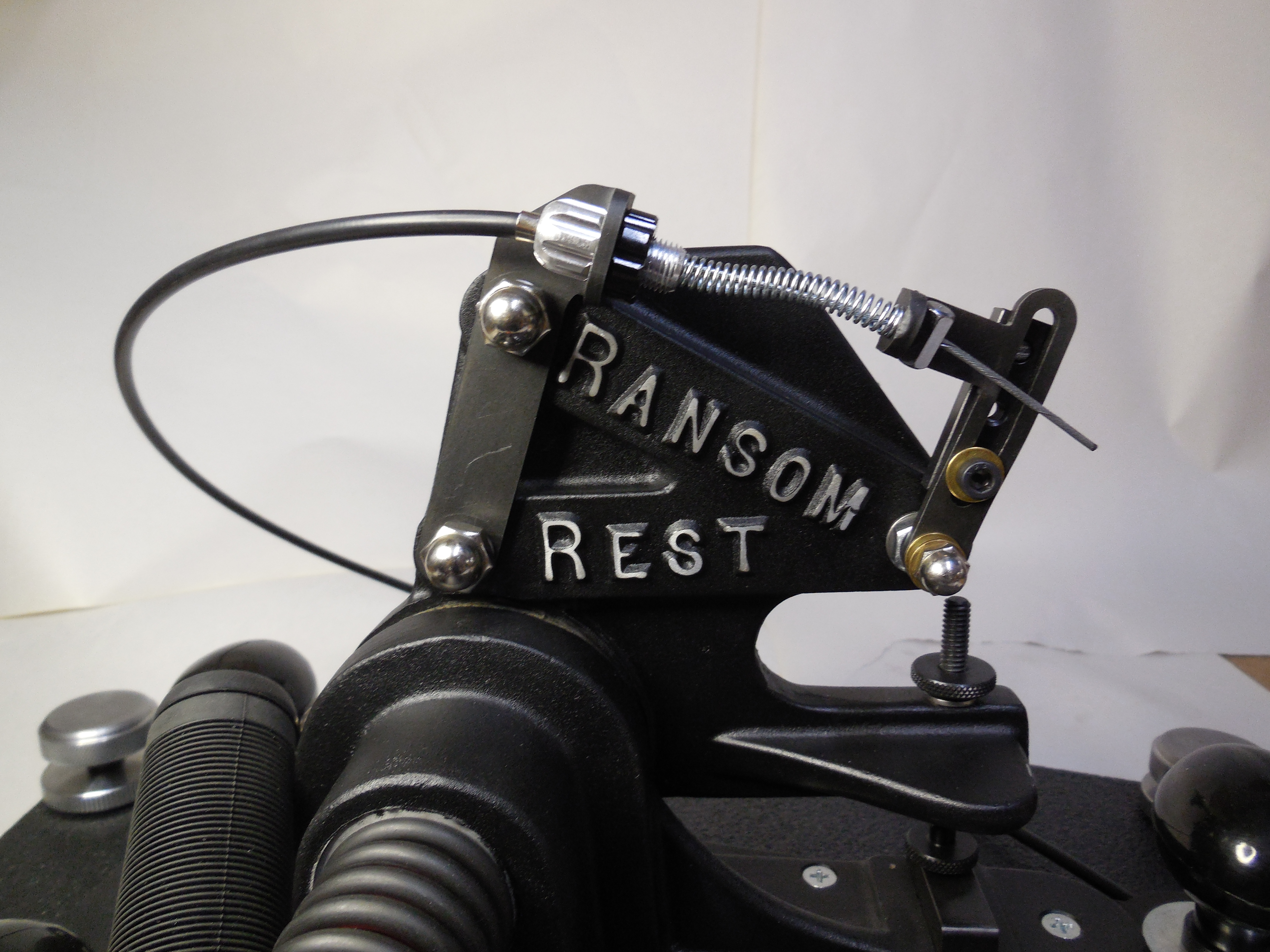 Ballistic Testing Remote Cable Pull System – Ransom International